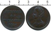 Изображение Монеты Великобритания 1/2 пенни 1774 Медь XF