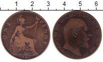 Изображение Монеты Великобритания 1 пенни 1905 Бронза VF