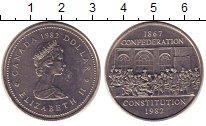Изображение Монеты Канада 1 доллар 1982 Медно-никель UNC-