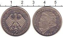 Изображение Монеты ФРГ 2 марки 1990 Медно-никель XF