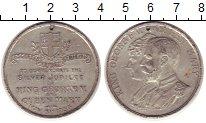 Изображение Монеты Великобритания Медаль 1935 Олово XF Серебряный  юбилей