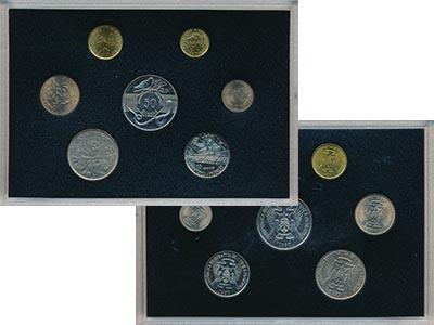 Изображение Подарочные наборы Сан Томе и Принсисипи Сан Томе и Принсисипи 1977-1990 0  AUNC