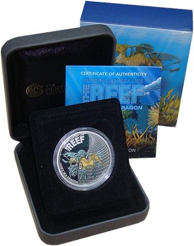 Изображение Подарочные монеты Австралия 50 центов 2009 Серебро Proof <br>Обитатели австра