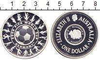 Изображение Монеты Австралия 1 доллар 25 центов 2006 Серебро Proof Елизавета II.  Чемпи
