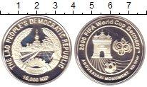 Изображение Монеты Лаос 15000 кип 2006 Серебро Proof