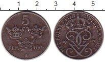 Изображение Монеты Швеция 5 эре 1947 Железо XF