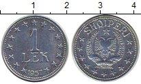 Изображение Монеты Албания 1 лек 1957 Цинк XF