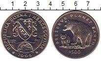 Изображение Монеты Босния и Герцеговина 500 динар 1994 Медно-никель UNC-