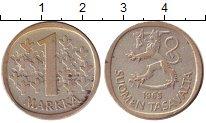 Изображение Монеты Финляндия 1 марка 1965 Серебро XF-