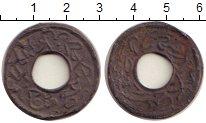 Изображение Монеты Великобритания Малайя 1 питис 1896 Олово VF