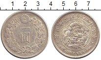 Изображение Монеты Япония 1 иена 1904 Серебро XF Муцухито