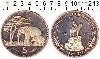 Изображение Монеты Намибия 5 унций 1987 Серебро Proof-