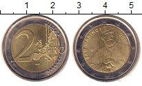 Изображение Монеты Сан-Марино 2 евро 2007 Биметалл UNC- Джузеппе  Гарибальди