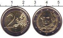 Изображение Монеты Сан-Марино 2 евро 2016 Биметалл UNC- 400  лет  со  дня  с