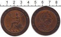 Изображение Монеты Великобритания 2 пенса 1797 Медь XF-