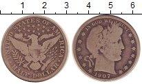 Изображение Монеты США 1/2 доллара 1907 Серебро VF