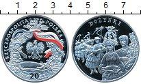 Изображение Монеты Польша 20 злотых 2004 Серебро Proof