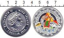 Изображение Монеты Ниуэ 1 доллар 2016 Серебро Proof