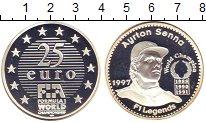 Изображение Монеты Франция 25 евро 1997 Серебро Proof-