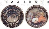 Изображение Монеты Либерия 10 долларов 2001 Медно-никель UNC `Серия ``Моменты Сво