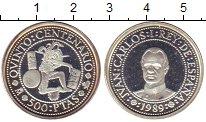 Монета Испания 500 песет Серебро 1989 Proof фото