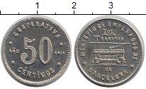 Изображение Монеты Испания 5 сентим 1916 Медно-никель UNC-