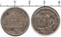Изображение Монеты Испания 50 сентимо 1937 Медно-никель XF-