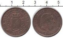 Изображение Монеты Испания 5 сентим 1875 Медь XF-