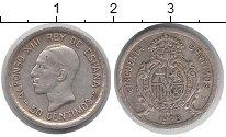 Изображение Монеты Испания 50 сентимо 1926 Серебро XF