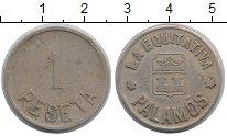 Изображение Монеты Испания 1 песета 0 Медно-никель XF-