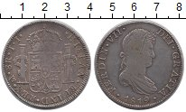 Изображение Монеты Испания 8 реалов 1819 Серебро XF-
