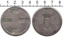 Изображение Монеты Испания 5 песет 1809 Серебро XF-