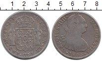 Изображение Монеты Перу 8 реалов 1805 Серебро XF- Испанская колония.Ка
