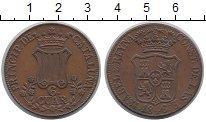 Изображение Монеты Испания Каталония 6 кварто 1846 Медь XF