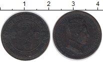Изображение Монеты Испания 2 сентима 1904 Бронза VF