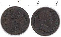 Изображение Монеты Испания 1 сентимо 1906 Бронза XF