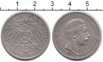 Изображение Монеты Пруссия 2 марки 1902 Серебро XF