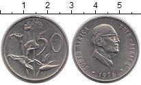 Изображение Монеты ЮАР 50 центов 1976 Медно-никель VF