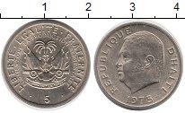 Изображение Монеты Гаити 5 сентим 1975 Медно-никель XF
