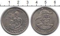 Изображение Монеты Свазиленд 1 лилангени 1975 Медно-никель UNC