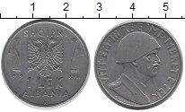 Изображение Монеты Албания 1 лек 1939 Железо XF