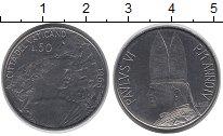 Изображение Монеты Ватикан 50 лир 1966 Железо XF