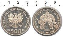 Изображение Монеты Польша 500 злотых 1987 Серебро Proof-