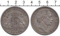 Изображение Монеты Бавария 2 гульдена 1849 Серебро XF