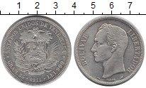 Изображение Монеты Венесуэла 1 боливар 1911 Серебро XF Боливар - Освободите