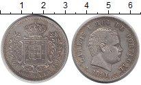 Изображение Монеты Португалия 500 рейс 1891 Серебро VF