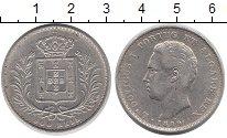 Изображение Монеты Португалия 500 рейс 1889 Серебро VF