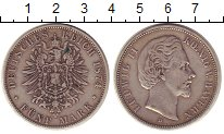 Изображение Монеты Бавария 5 марок 1874 Серебро XF