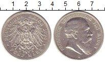 Изображение Монеты Баден 5 марок 1903 Серебро XF