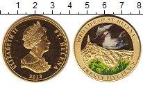 Изображение Монеты Остров Святой Елены 25 пенсов 2013 Латунь XF Птицы острова
